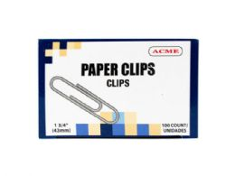 75 Units of 1.75 Paper Clips 100 Count - Paper clips