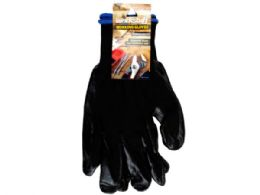 72 Units of Extra Large Nitrile Coated Working Gloves - Working Gloves
