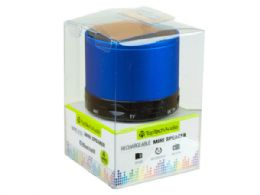 12 Units of Bluetooth Mini Speaker in Blue - Speakers and Microphones