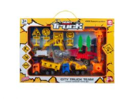 12 Units of City Construction Play Set - Toy Sets