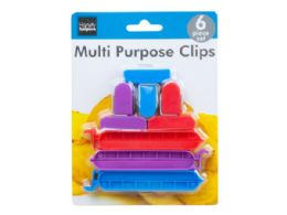 72 Units of 6 Pack Bag Clips - Kitchen Gadgets & Tools