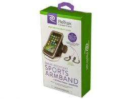 18 Units of Essentials Armband and Earbuds - Headphones and Earbuds