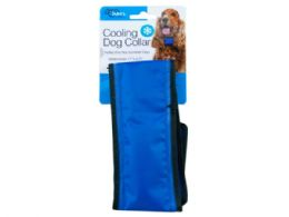 18 Units of Medium Cooling Dog Collar - Pet Collars and Leashes