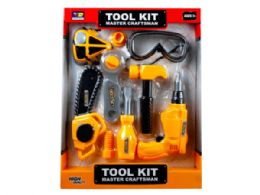 12 Units of Assorted Construction Tools Play Set - Toy Sets