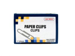 90 Units of 1 Paper Clips 100 Count - Paper clips