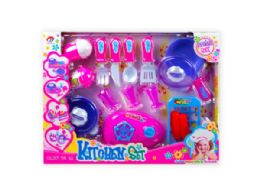 12 Units of Assorted Kitchen Cooking Play Set - Toy Sets