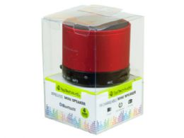 12 Units of Bluetooth Mini Speaker in Red - Speakers and Microphones