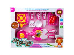 12 Units of Assorted Stove Top Cooking Play Set - Toy Sets