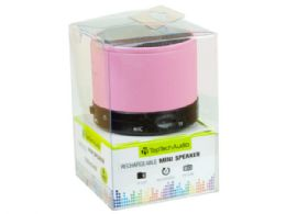 12 Units of Bluetooth Mini Speaker in Pink - Speakers and Microphones