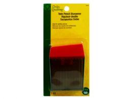 72 Units of Twin Pencil Sharpener - Pencils