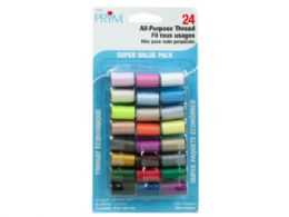 72 Units of 24 Pc All-Purpose Sewing Thread Set - Sewing Supplies