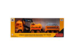 12 Units of Assorted Friction Construction Trucks - Toy Sets