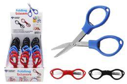 48 Units of Folding Travel Scissors - Scissors