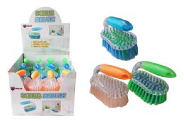 48 Units of Iron Handle Scrub Brush - Cleaning Products