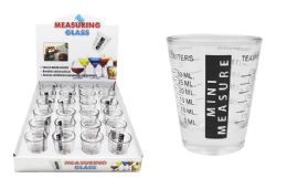 48 Units of Measuring Shot Glass - Measuring Cups and Spoons