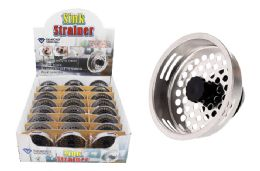 36 Units of Metal Sink Strainer - Strainers & Funnels