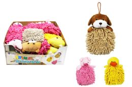 48 Units of Microfiber Animal Duster Wash Mitt - Dusters