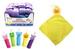 36 Units of Microfiber Animal Wash Cloth - Towels