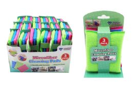 36 Units of Microfiber Cleaning Pads - Scouring Pads & Sponges