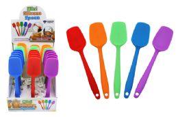48 Units of Mini Silicone Spoon Spatula - Kitchen Gadgets & Tools