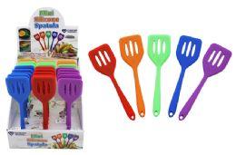 48 Units of Mini Silicone Turner Spatula - Kitchen Gadgets & Tools