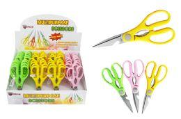 36 Units of Multi Purpose Neon Scissors - Scissors