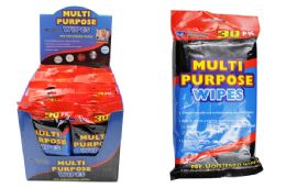30 Units of Multi Purpose Wipes - Cleaning Products