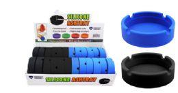48 Units of Silicone Ash Tray - Ashtrays