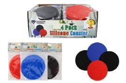 36 Units of Silicone Coasters - Coasters & Trivets