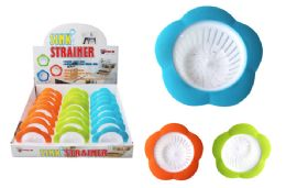 48 Units of Silicone Flower Sink Strainer - Strainers & Funnels
