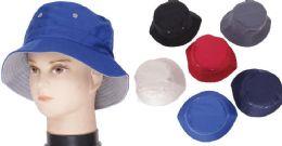 72 Units of Men's Assorted Color Bucket Hat - Bucket Hats