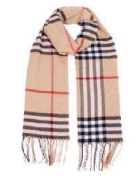 72 Units of Unisex Plaid Printed Winter Scarf - Winter Scarves