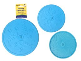 72 Units of Flexible Flying Disc - Pet Toys