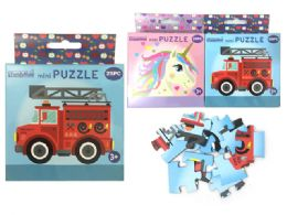 96 Units of 25pc Mini Puzzles - Puzzles