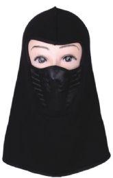 72 Units of Men's Cotton Fleece Face Mask - Winter Beanie Hats