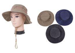 72 Units of Men's Fishing Hat - Cowboy & Boonie Hat