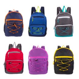 """24 Units of 17"""" Mixed Backpack Assortment in 12 Assorted Styles - Backpacks 17"""""""