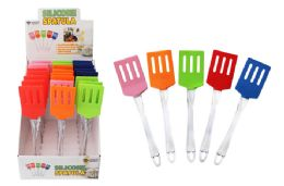 24 Units of Silicone Turner Spatula - Kitchen Gadgets & Tools