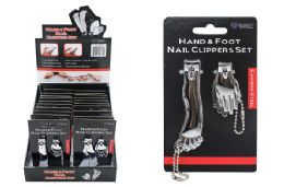 40 Units of Hand And Foot Nail Clippers - Manicure and Pedicure Items