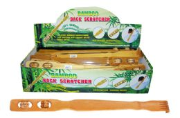 72 Units of Bamboo Back Scratcher - Back Scratchers and Massagers