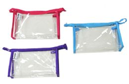 48 Units of Clear Cosmetic Pouch - Cosmetic Cases