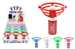 15 Units of Hand Held Fan with Lanyard - Novelty & Party Sunglasses