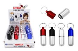 24 Units of Keychain PIll Holder Small - Pill Boxes and Accesories