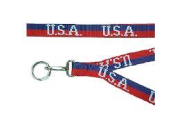 48 Units of USA Lanyard - Key Chains