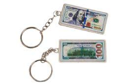 48 Units of US Money Keychain - Key Chains