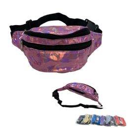 24 Units of Shiny Waist Pack - Fanny Pack