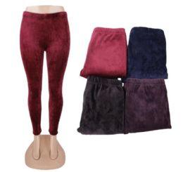 36 Units of Women's Fleece Winter Leggings - Womens Leggings