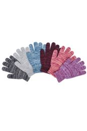 180 Units of Ladies Assorted Magic Gloves - Winter Gloves