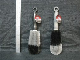 24 Units of Two Tone Tire Brush - Auto Cleaning Supplies