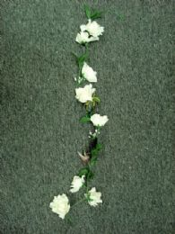 36 Units of 4' Large Open Rose Garland - Artificial Flowers